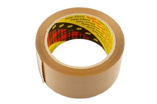 Connect 35217 Brown Parcel Tape 50mm x 66m Box 36 Rolls
